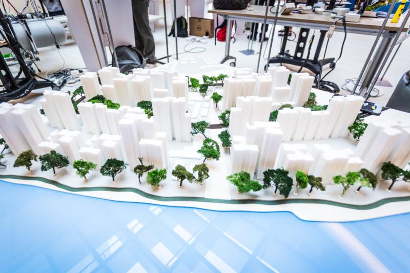 3D Printed Punggol Town